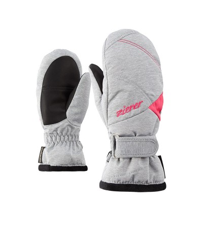 ZIENER LIA GTX MITTEN GIRLS light melange