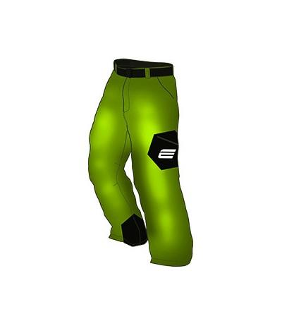 ENERGIAPURA PANT. VELVET COLOR MAN acid green