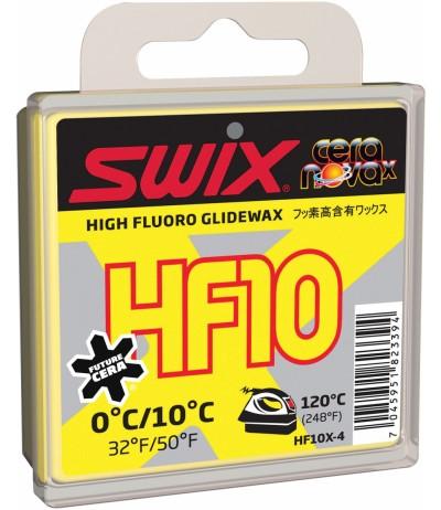 SWIX HF10X GIALLA 0/+10 40 gr.
