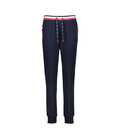 CMP WOMAN LONG PANT N950 black blue