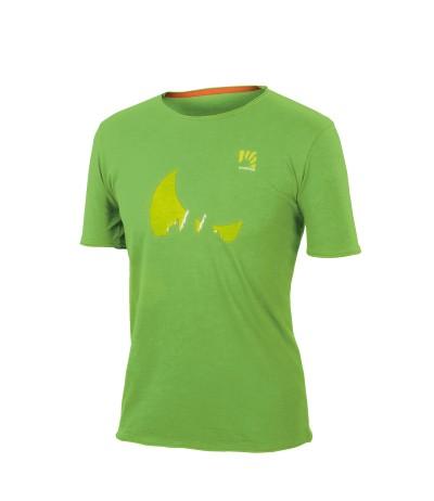 KARPOS LASTE WALL T-SHIRT 273 green flash