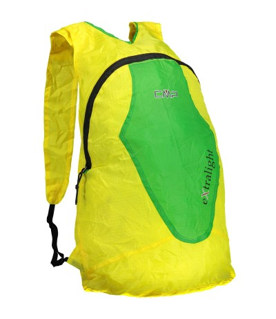 CMP PACKABLE 15 L BACKPACK giallo/verde