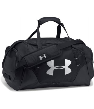 UNDER ARMOUR UNDENIABLE DUFFLE 3.0 MD blk/blk/slv