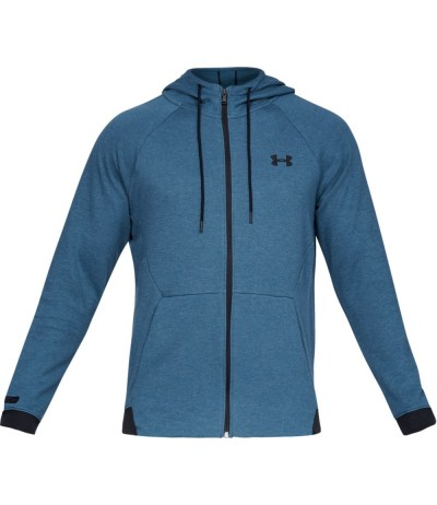UNDER ARMOUR UNSTOPPABLE 2X KNIT FZ petrol blue