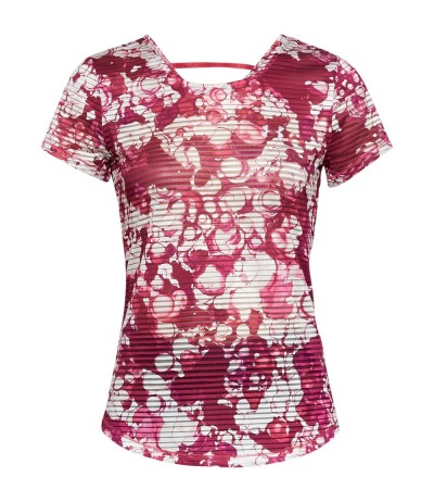 UNDER ARMOUR SPORT PRINTED SS impulse pink