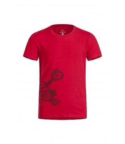 MONTURA BERNY T-SHIRT KIDS 10 rosso