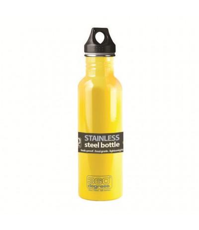 NIC IMPEX BOTTIGLIA ACCIAIO INOX 750 ml yellow