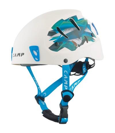 CAMP CASCO ARMOUR bianco/azzurro 50-57 cm