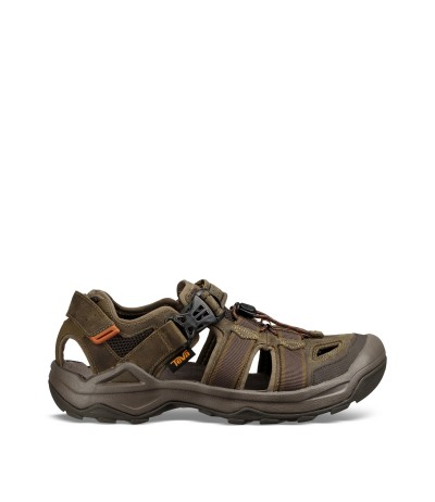 TEVA OMNIUM 2 LEATHER UOMO turkish coffee