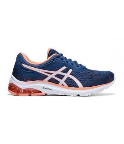 ASICS GEL PULSE 11 DONNA mako blue/sun coral