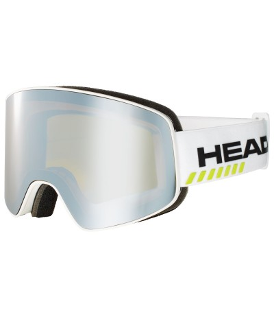 HEAD HORIZON RACE white + Spare Lens