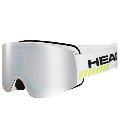 HEAD INFINITY RACE white + Spare Lens