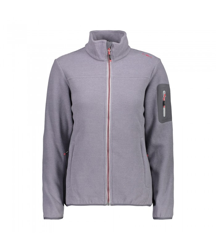 CMP WOMAN JACKET PILE grey