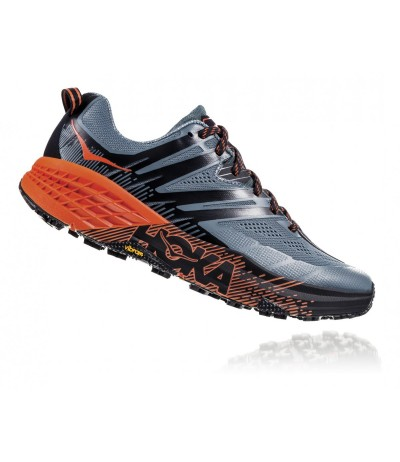HOKA SPEEDGOAT 3 MEN'S stormy weather/tangerine tango