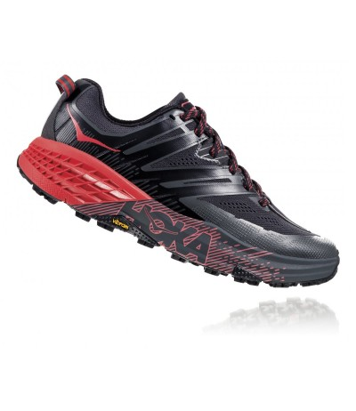 HOKA SPEEDGOAT 3 W dark shadow/poppy red