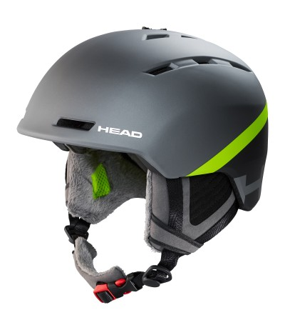 HEAD CASCO VARIUS grey/lime