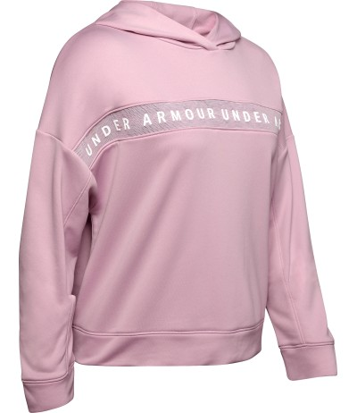 UNDER ARMOUR TECH TERRY HOODY pink