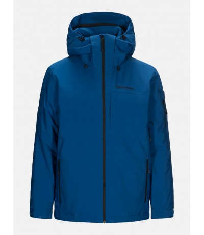 PEAK PERFORMANCE MAROON JACKET true blue