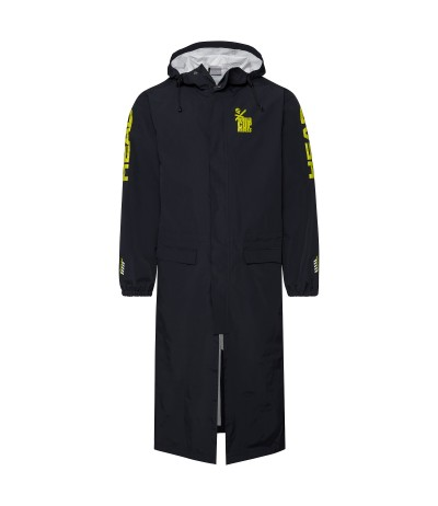 HEAD RACE RAINCOAT black