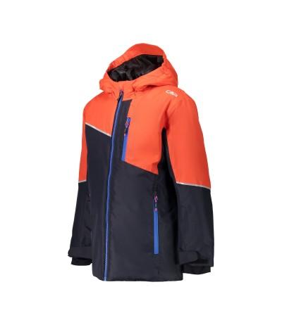 CMP GIACCA SCI JUNIOR N950 black blue/arancio