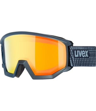 UVEX MASCHERA ATHLETIC FM navy mat/S2