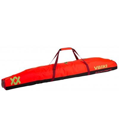 VOLKL RACE DOUBLE SKI BAG 195 cm RED