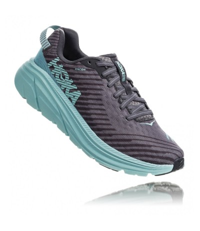 HOKA RINCON WOMAN charcoal grey/aqua s