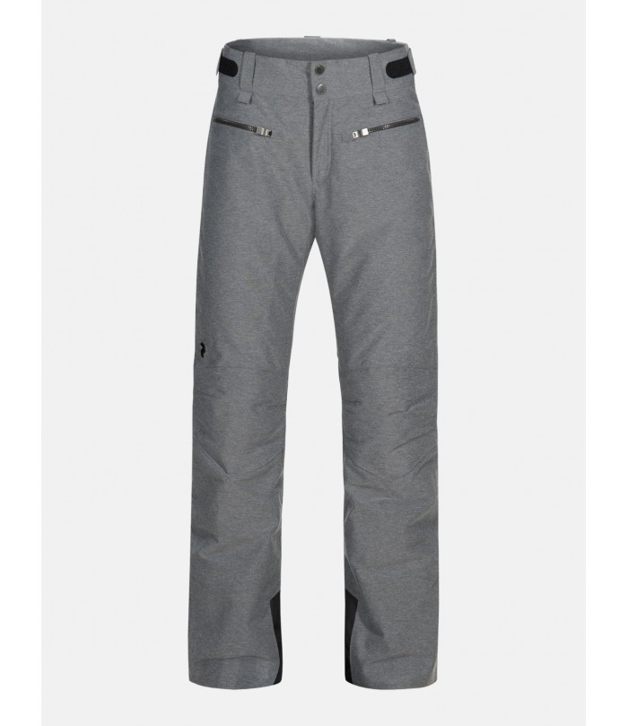 PEAK PERFORMANCE SCOOT MELANGE PANT W grey melange