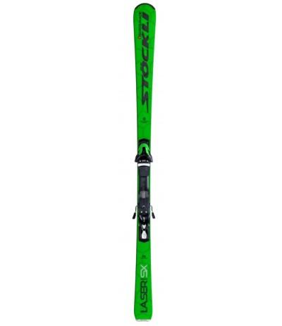 STOCKLI LASER SX + SPEEDPLATE + SRT12 green