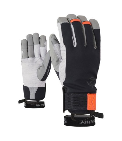 ZIENER GAMINUS black/new orange
