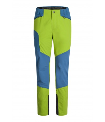 MONTIURA CHROME PANTS verde acido/blu ottanio
