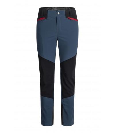 MONTIURA CHROME PANTS blu cenere/rosso