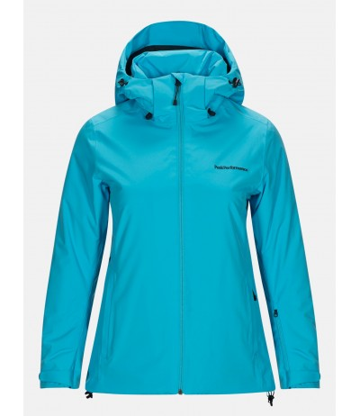 PEAK PERFORMANCE ANIMA JACKET WOMAN glacier blue