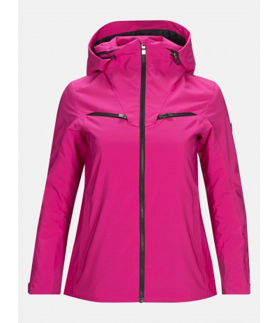 PEAK PERFORMANCE LANZO JACKET W power pink