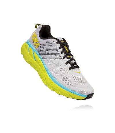 HOKA ONE ONE CLIFTON 6 MEN'S lunar rock/nimbus cloud