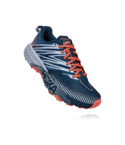 HOKA ONE ONE SPEEDGOAT 4 WOMEN majolica blue/heather