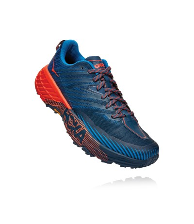 HOKA ONE ONE SPEEDGOAT 4 MEN'S majolica blue/heather