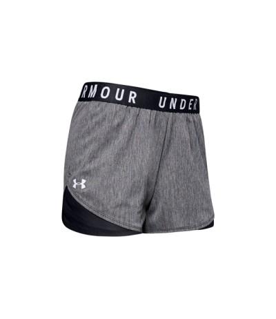 UNDER ARMOUR PLAY UP SHORT 3.0 TWIST black