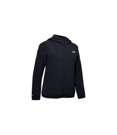 UNDER ARMOUR WOVEN HOODED JKT DONNA black