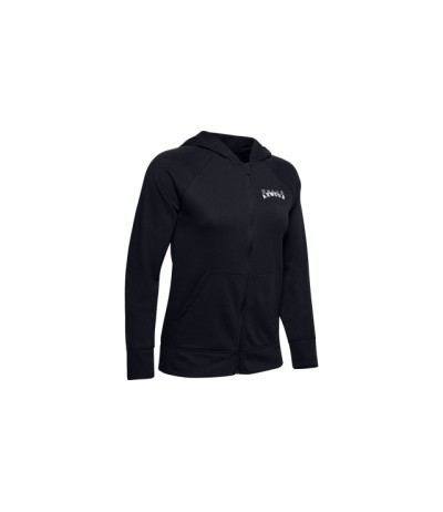 UNDER ARMOUR RIVAL TERRY HOODIE DONNA black