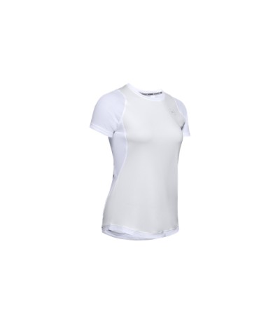 UNDER ARMOUR W QUALIFIER ISO CHILL SS white
