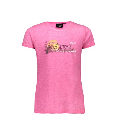 CMP GIRL T-SHIRT bouganville