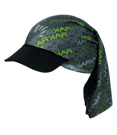 KARPOS LONGERES CAP black/green/dark grey
