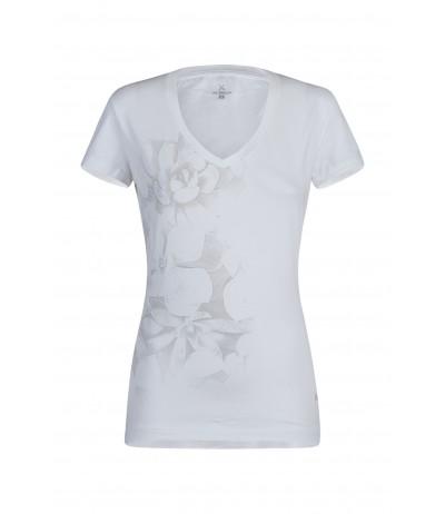 MONTURA ROMANCE T-SHIRT WOMAN 0004 bianco/rosa sugar