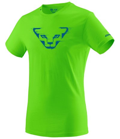 DYNAFIT GRAPHIC CO M S/S TEE lambo green
