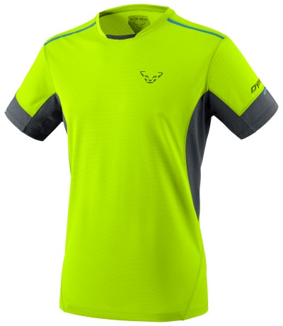 DYNAFIT VERT 2 M S/S TEE fluo yellow