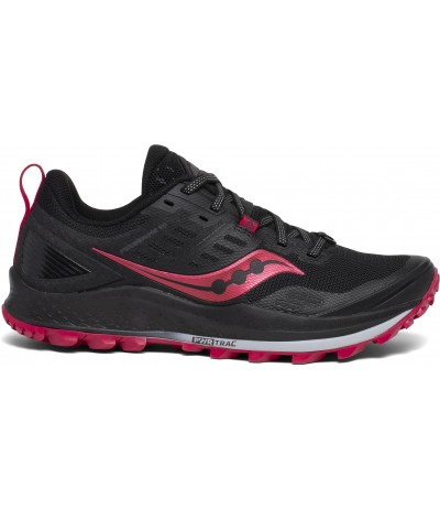 SAUCONY PEREGRINE 10 WOMAN black/barberry