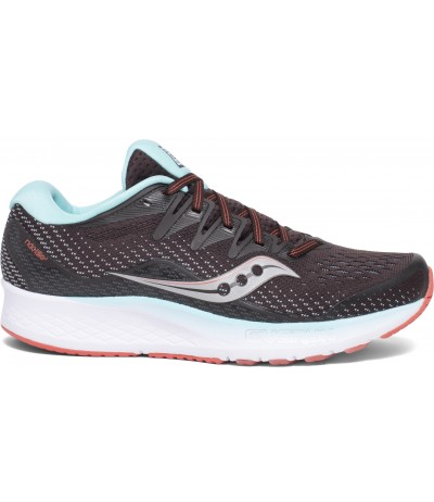 SAUCONY RIDE ISO 2 WOMAN brown/coral