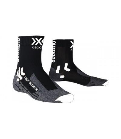 X-SOCKS TREK OUTDOOR SOCKS nero/grigio