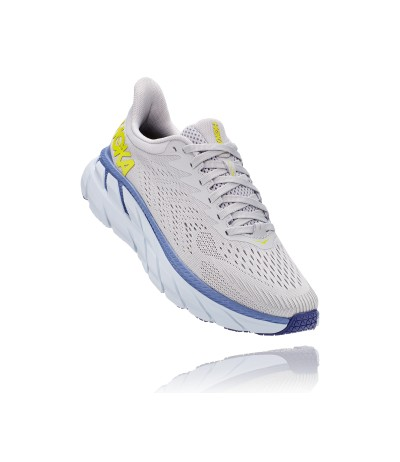 HOKA CLIFTON 7 WOMEN'S lunar rock/nimbus cloud